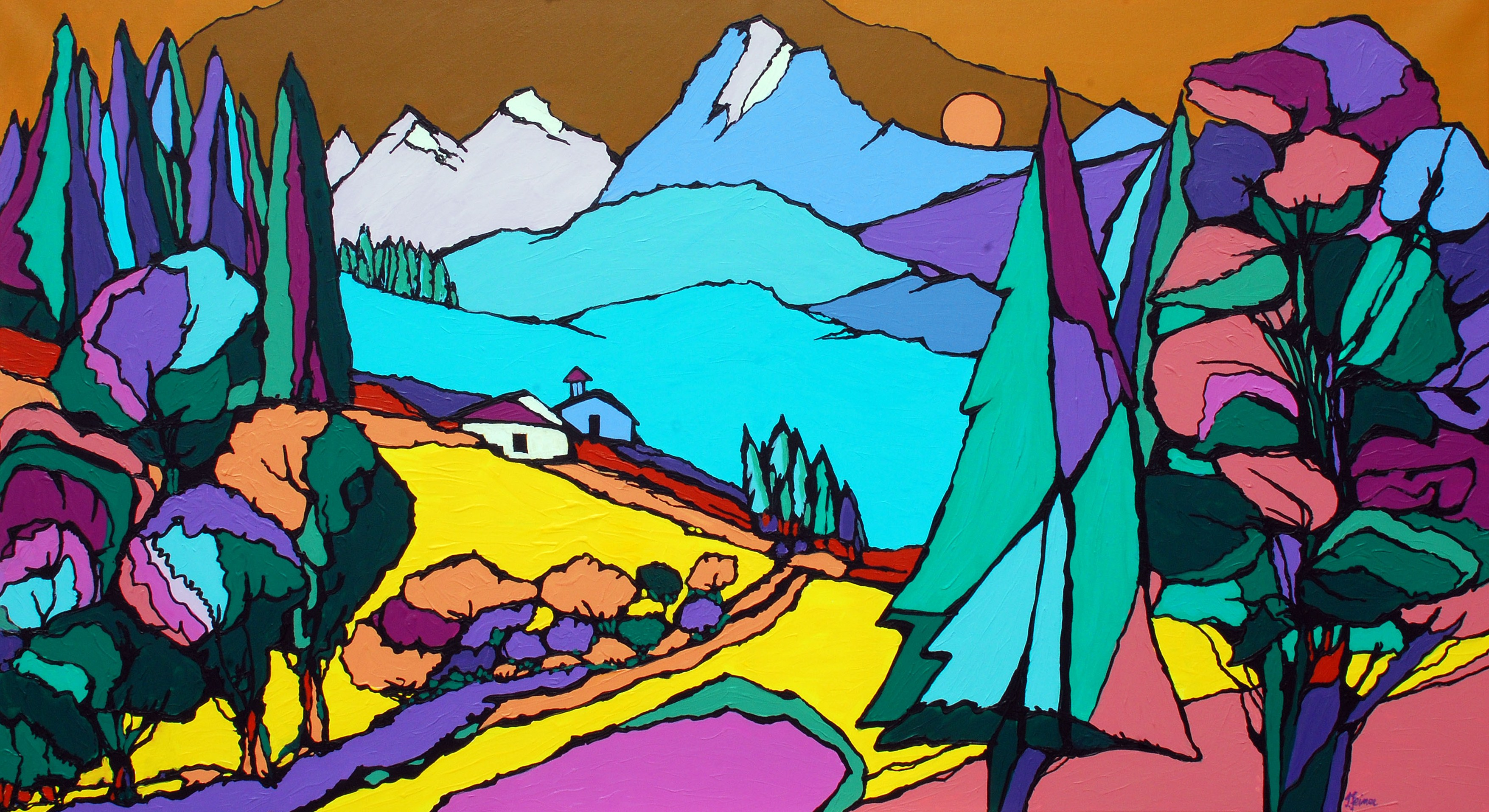 """Herbstausstellung """"kommunikativ - ellipsoid - alpin"""""""