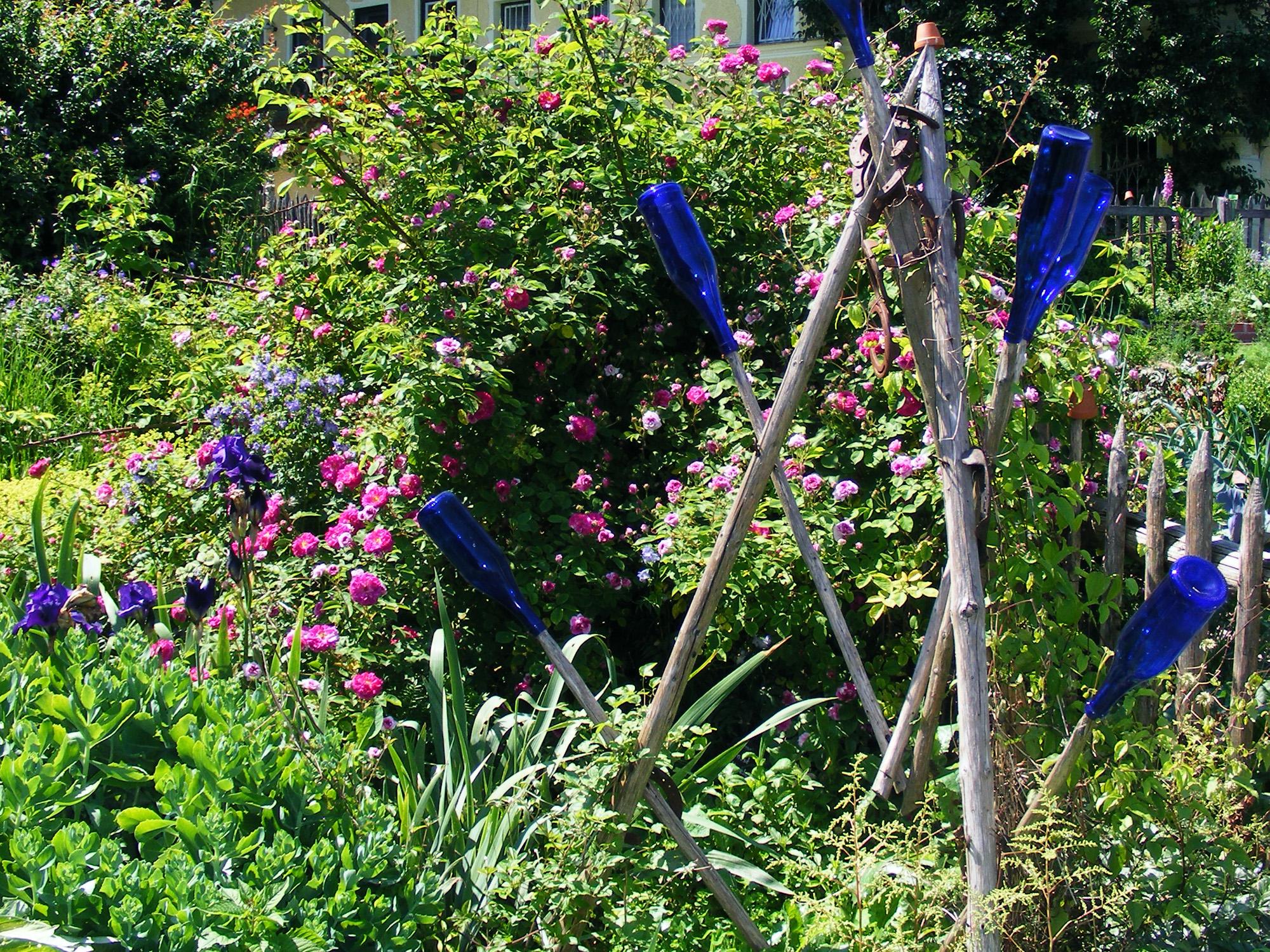 Fahrt zur Gartenbäuerin