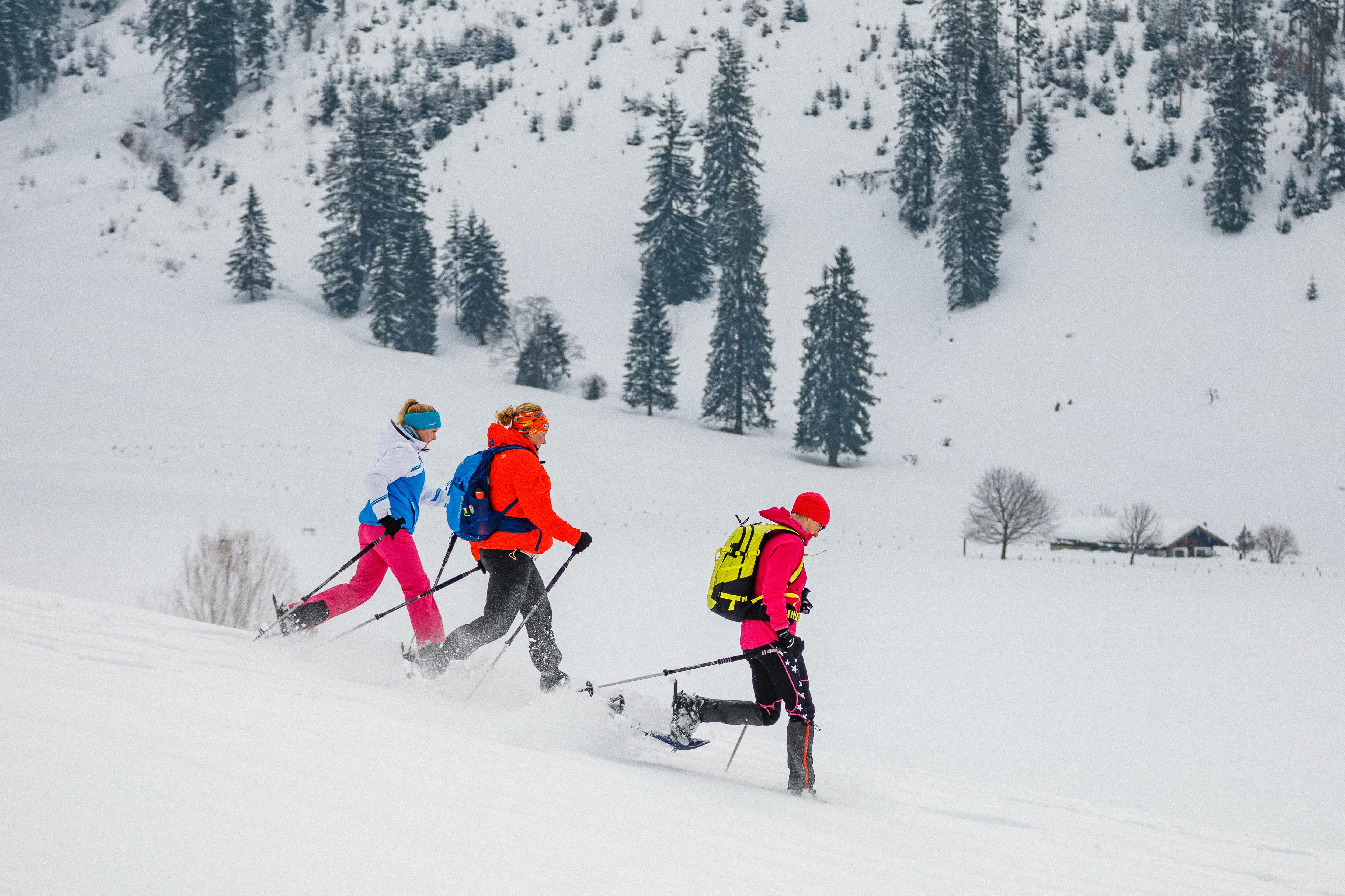 Schneeschuhwanderung für Jedermann mit gemütlicher Einkehr
