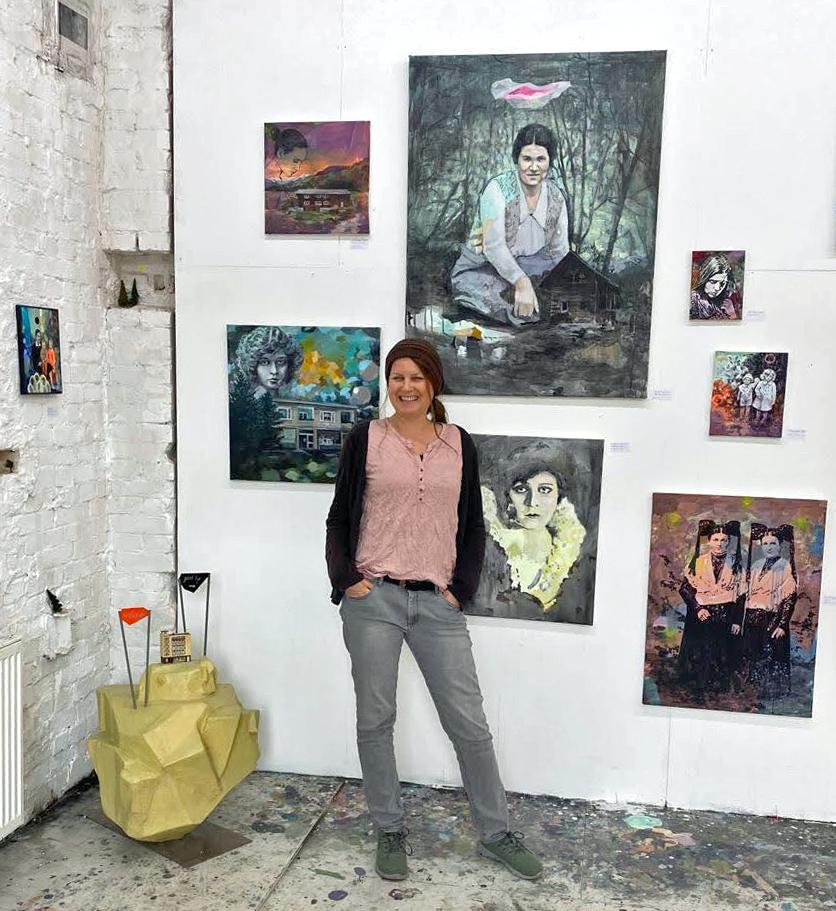 Rise and shine von Meike Zopf - Ausstellungseröffnung in der Galerie Kaysser