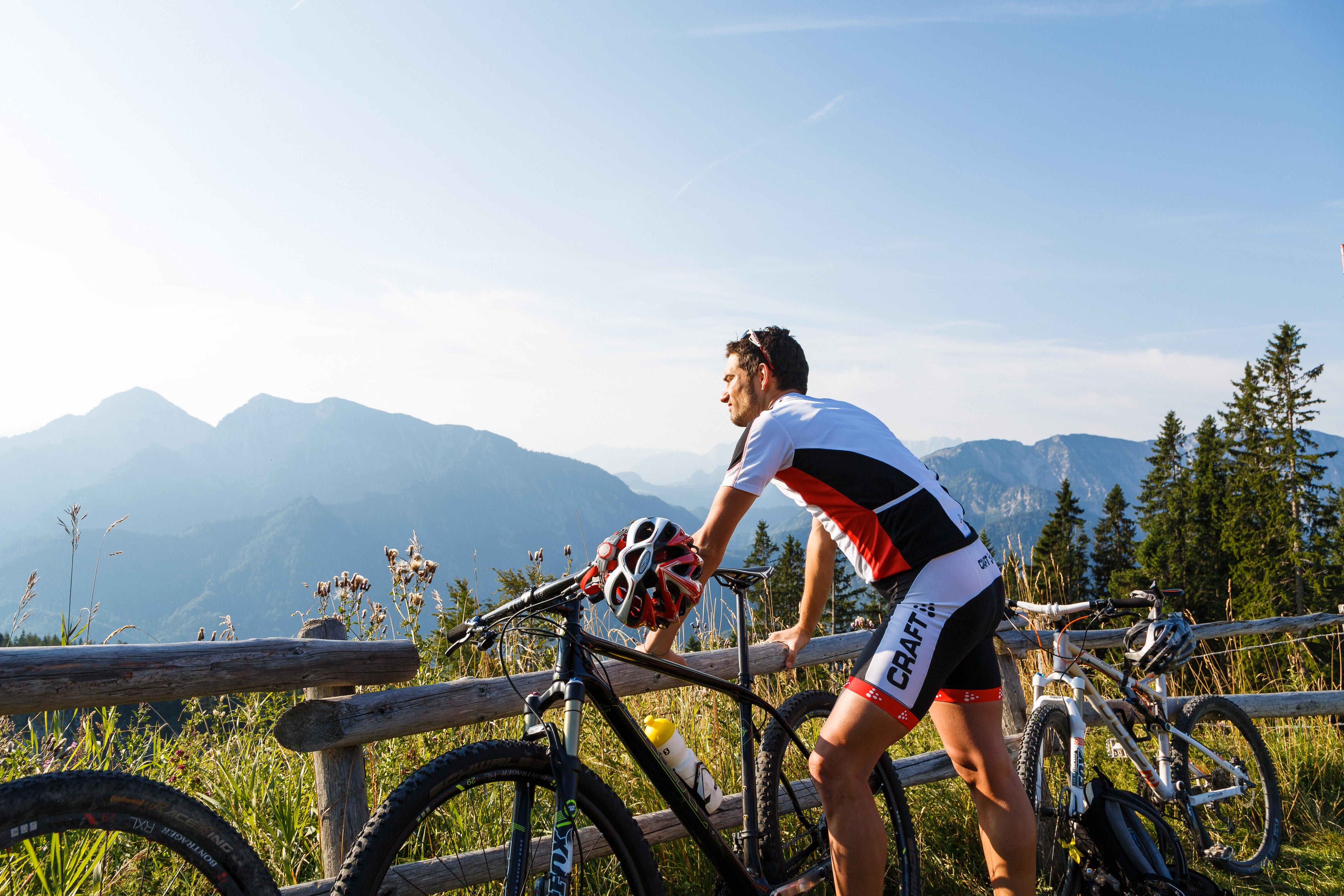 """Sportliche Mountainbike-Tour """"Rund um Ruhpolding"""""""