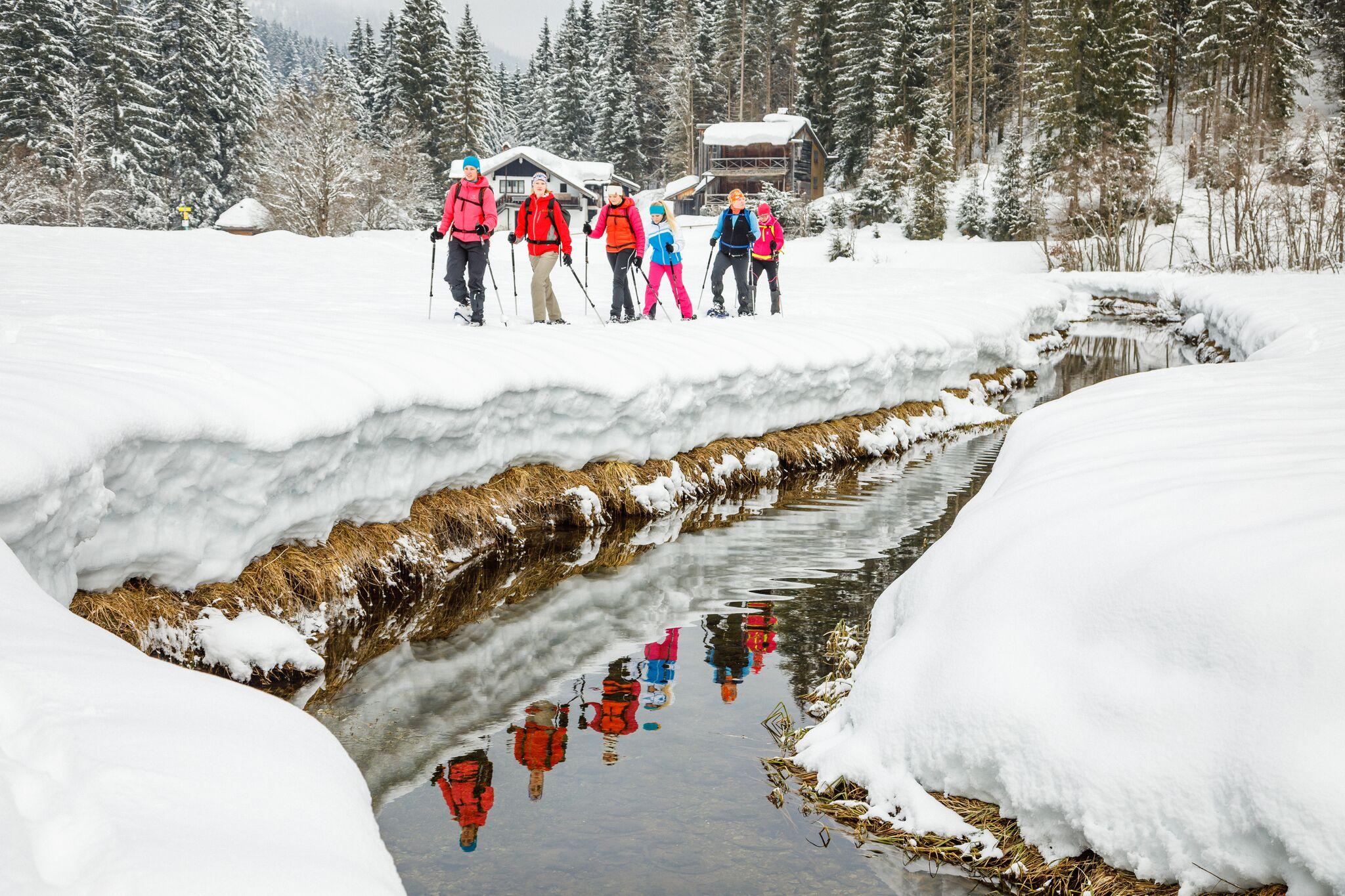 Schneeschuhtour für Fortgeschrittene mit geprüftem Bergführer