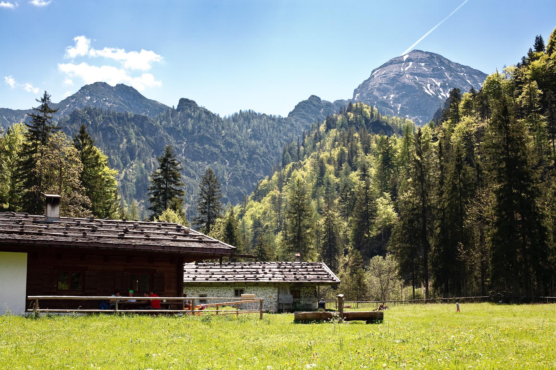 Chiemgauer Bergtouren - Hörndlwand über Ostertal