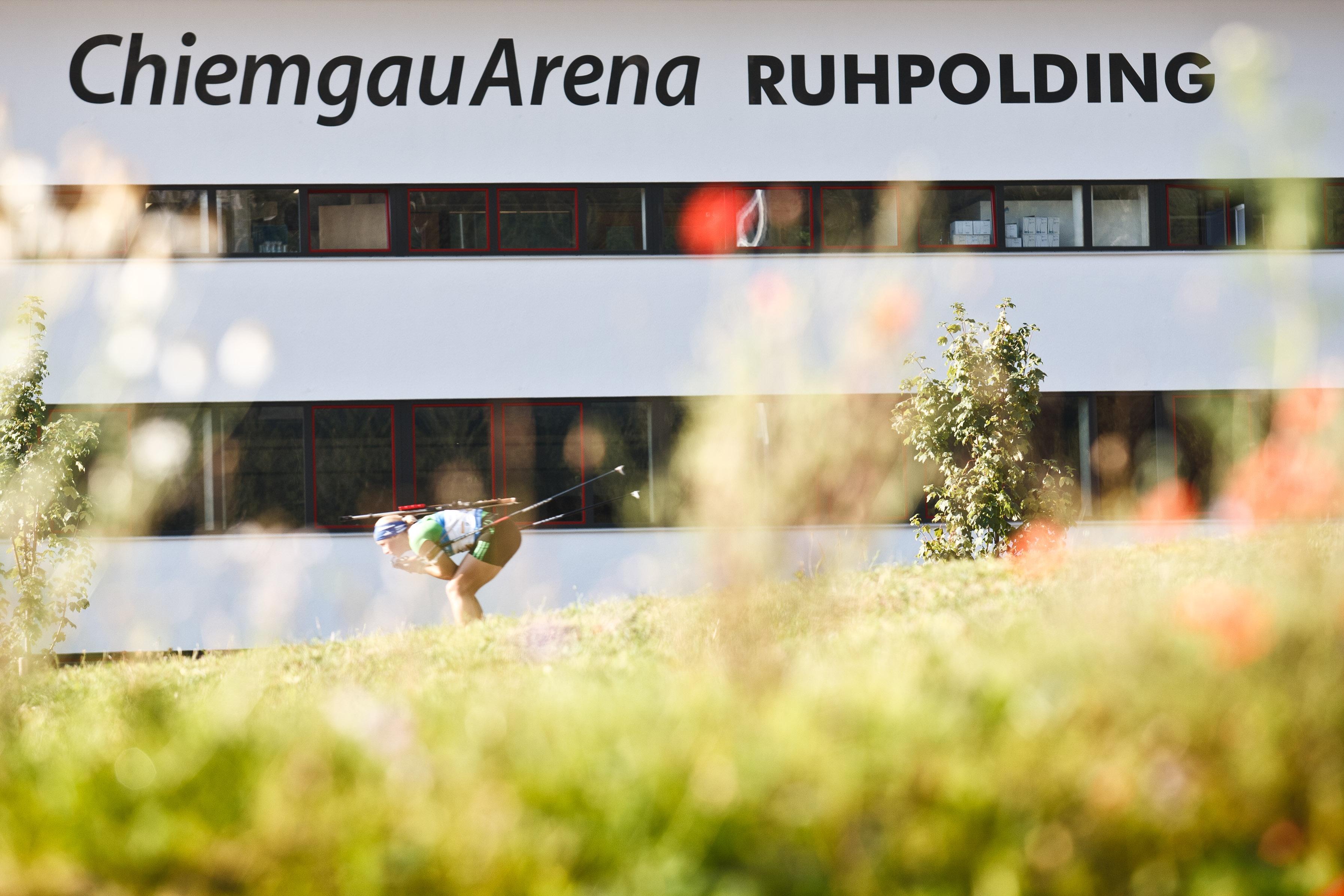 Arena-Tour in der Chiemgau Arena