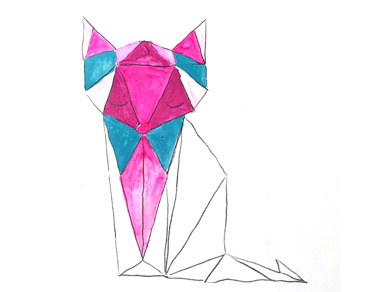 Kreatives Arbeiten im Atelier für Kinder - Malwerkstatt II